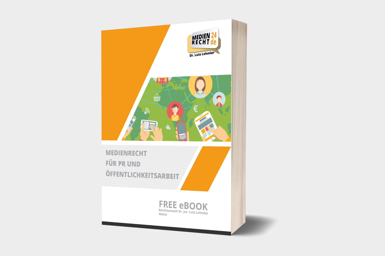 eBook für Medienrecht für PR & Öffentlichkeitsarbeit